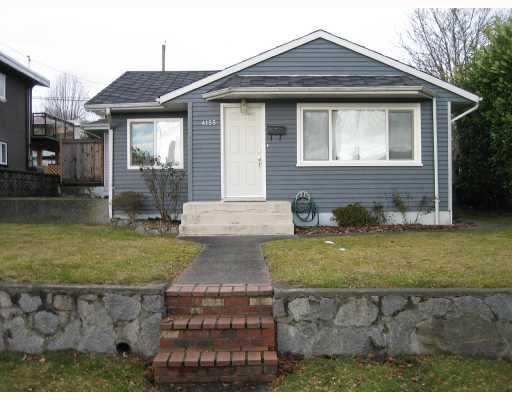 Main Photo: 4155 NAPIER Street in Burnaby: Willingdon Heights House for sale (Burnaby North)  : MLS®# V774879
