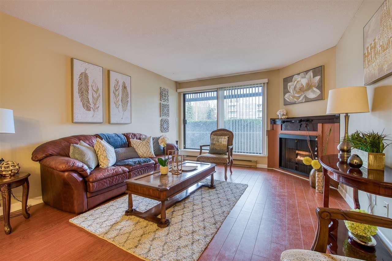"Main Photo: 111 13501 96 Avenue in Surrey: Queen Mary Park Surrey Condo for sale in ""Parkwoods"" : MLS®# R2387791"