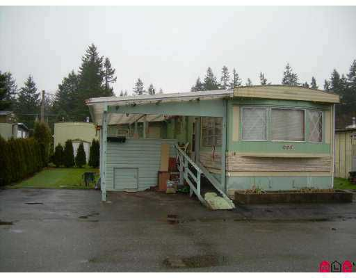 """Main Photo: 3031 200 Street in Langley: Brookswood Langley Manufactured Home for sale in """"CEDAR CREEK"""" : MLS®# F2620774"""