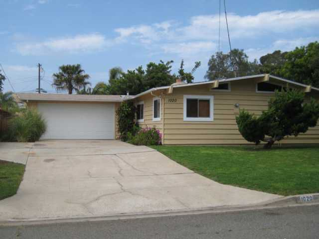 Main Photo: ENCINITAS House for sale : 3 bedrooms : 1020 San Abella Drive