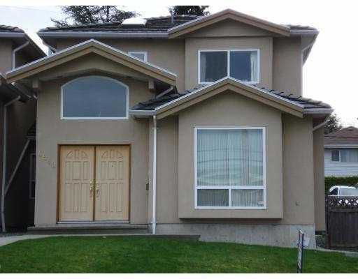 Main Photo: 4849 PATTERSON Avenue in Burnaby: Garden Village House 1/2 Duplex for sale (Burnaby South)  : MLS®# V772569