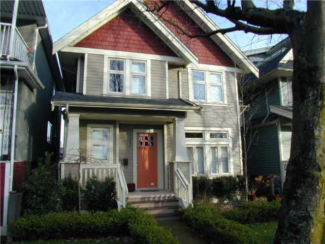 Main Photo: 1380 VICTORIA Drive in Vancouver: Grandview VE House 1/2 Duplex for sale (Vancouver East)  : MLS®# V864282