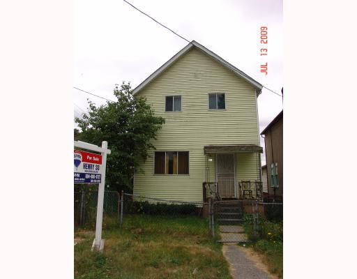 Main Photo: 346 UNION Street in Vancouver: Mount Pleasant VE House for sale (Vancouver East)  : MLS®# V777769