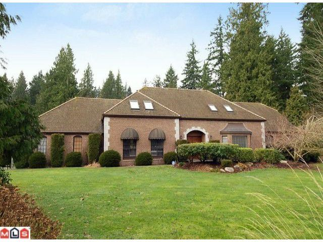 Main Photo: 2683 COUNTRY WOODS Drive in Surrey: Grandview Surrey House for sale (South Surrey White Rock)  : MLS®# F1102450