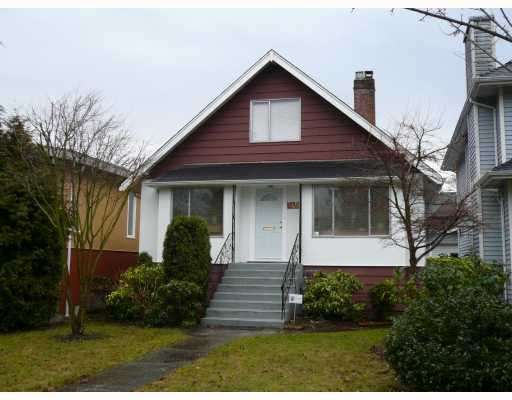 Main Photo: 3458 W KING EDWARD Avenue in Vancouver: Dunbar House for sale (Vancouver West)  : MLS®# V755986