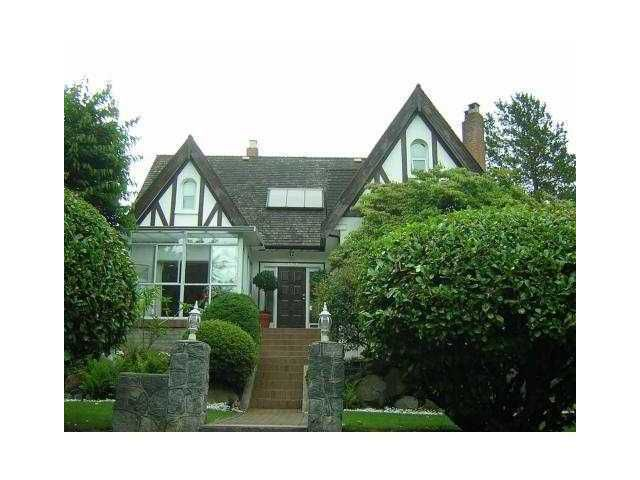 Main Photo: 4288 CYPRESS Street in Vancouver: Shaughnessy House for sale (Vancouver West)  : MLS®# V848405