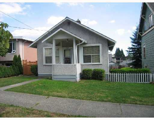 """Main Photo: 1026 NANAIMO Street in New_Westminster: VNWMP House for sale in """"Moody Park"""" (New Westminster)  : MLS®# V728036"""