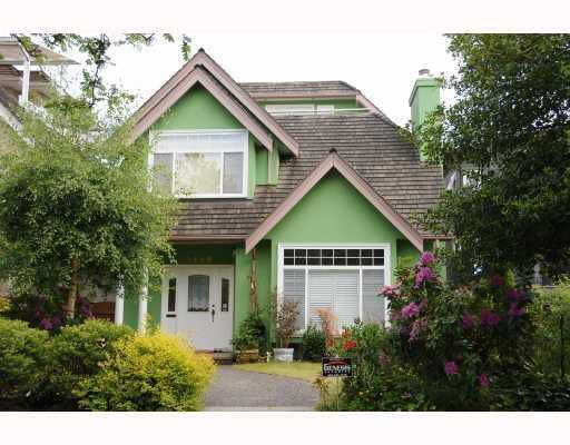 Main Photo: 3468 W 30TH Avenue in Vancouver: Dunbar House for sale (Vancouver West)  : MLS®# V742721