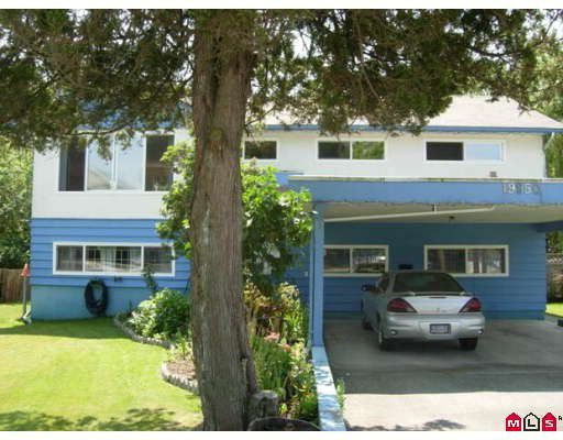 Main Photo: 19950 55A Avenue in Langley: Langley City House for sale : MLS®# F2913677