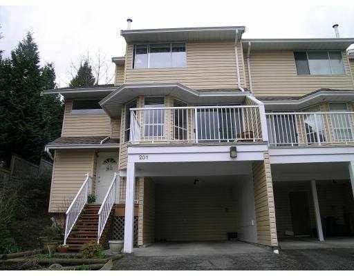 """Main Photo: 201 1176 FALCON Drive in Coquitlam: Eagle Ridge CQ Townhouse for sale in """"FALCON HILL"""" : MLS®# V759843"""