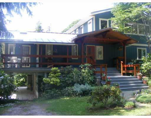 "Main Photo: 1459 GOWER POINT Road in Gibsons: Gibsons & Area House for sale in ""Gower Point"" (Sunshine Coast)  : MLS®# V770276"