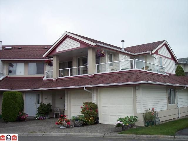 Main Photo: 61 31406 UPPER MACLURE Road in Abbotsford: Abbotsford West Townhouse for sale : MLS®# F1100048