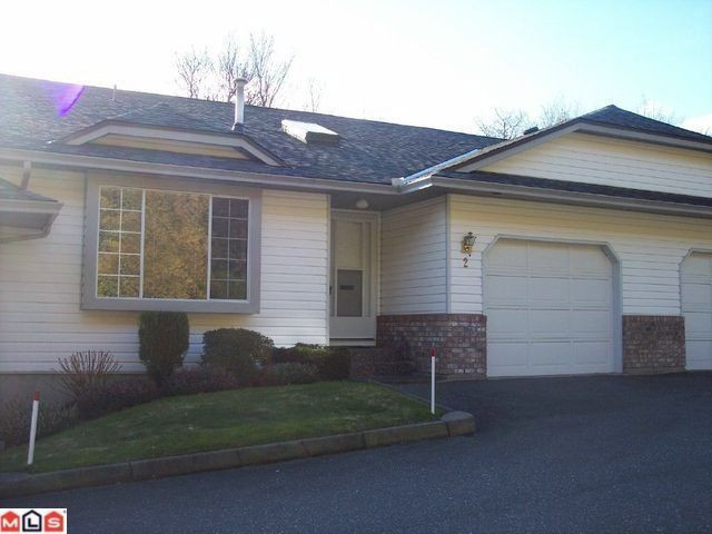 """Main Photo: 2 3351 HORN Street in Abbotsford: Central Abbotsford Townhouse for sale in """"EVANSBROOK ESTATES"""" : MLS®# F1102828"""