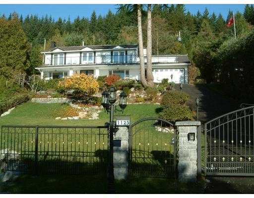 Main Photo: 1125 CRESTLINE Road in West Vancouver: British Properties House for sale : MLS®# V801827