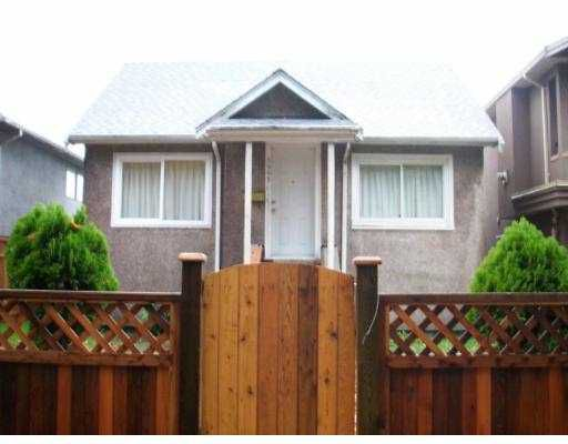 Main Photo: 5965 BOUNDARY BB in Vancouver: Killarney VE House for sale (Vancouver East)  : MLS®# V620411