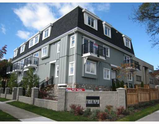 Main Photo: 8789 OAK Street in Vancouver: Marpole Townhouse for sale (Vancouver West)  : MLS®# V753979