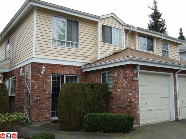 "Main Photo: 126 12233 92ND Avenue in Surrey: Queen Mary Park Surrey Townhouse for sale in ""ORCHARD LAKE"" : MLS®# F1007573"
