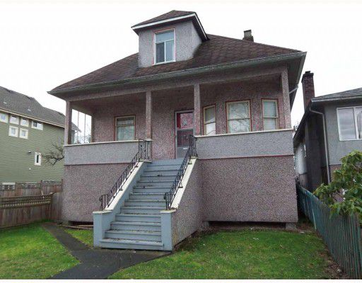 Main Photo: 2062 VENABLES Street in Vancouver: Grandview VE House for sale (Vancouver East)  : MLS®# V810114