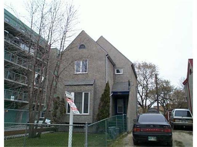 Main Photo: 263 ELLEN Street in WINNIPEG: Central Winnipeg Residential for sale : MLS®# 2505551