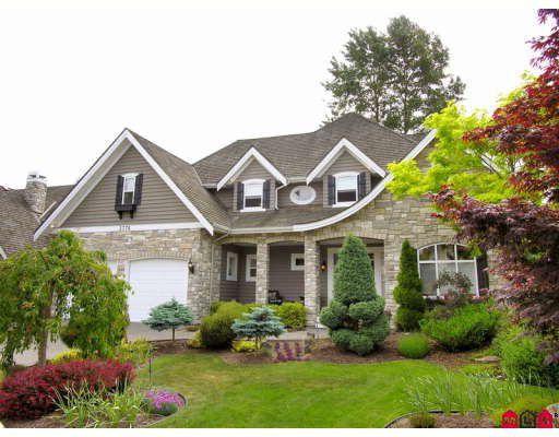 "Main Photo: 3776 156B Street in Surrey: Morgan Creek House for sale in ""MORGAN CREEK"" (South Surrey White Rock)  : MLS®# F2913031"