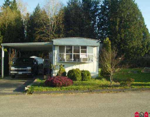 "Main Photo: 83 7850 KING GEORGE HY in Surrey: East Newton Manufactured Home for sale in ""Bear Creek Glen"" : MLS®# F2428003"
