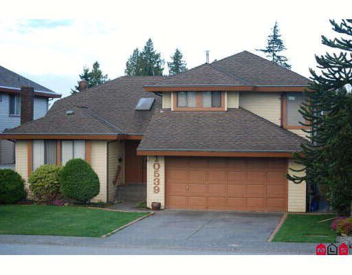 "Main Photo: 10539 GLENWOOD Drive in Surrey: Fraser Heights House for sale in ""FRASER GLEN"" (North Surrey)  : MLS®# F2908238"