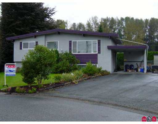 Main Photo: 10096 MANOR DR in Chilliwack: Fairfield Island House for sale : MLS®# H2503456