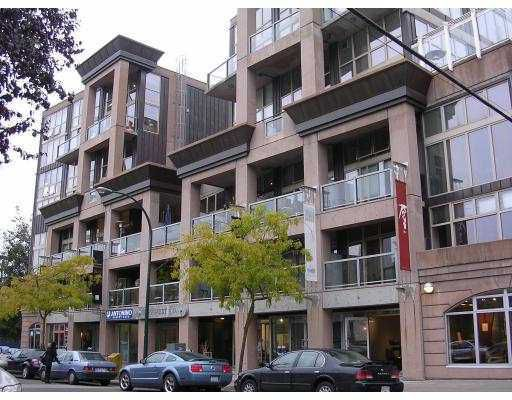 """Main Photo: 321 1529 W 6TH Avenue in Vancouver: False Creek Condo for sale in """"South Granville Lofts"""" (Vancouver West)  : MLS®# V785813"""