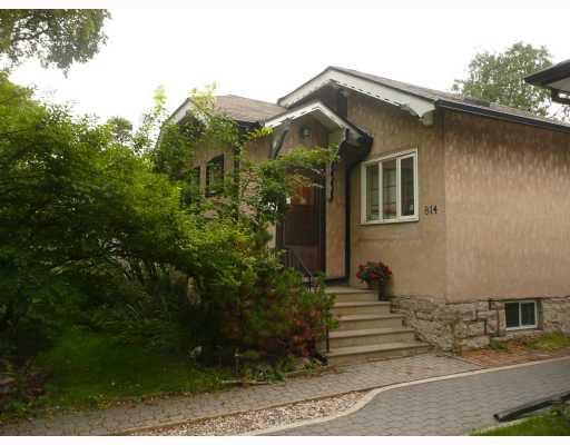 Main Photo: 814 SHERBURN Street in WINNIPEG: West End / Wolseley Residential for sale (West Winnipeg)  : MLS®# 2917986