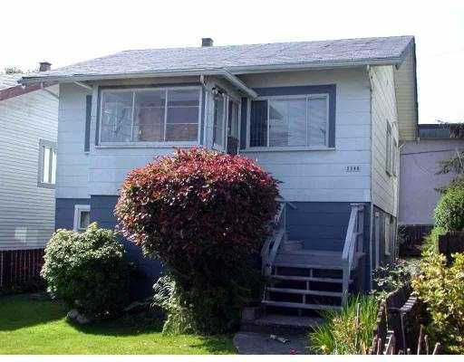 Main Photo: 2248 E 25TH AV in Vancouver: Victoria VE House for sale (Vancouver East)  : MLS®# V548556