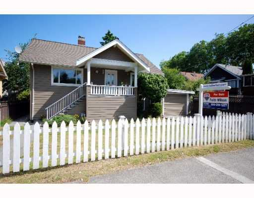 Main Photo: 2925 W 10TH Avenue in Vancouver: Kitsilano House for sale (Vancouver West)  : MLS®# V774026