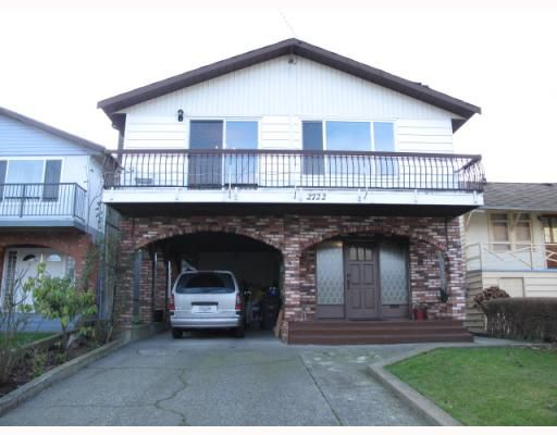 Main Photo: 2722 WALL Street in Vancouver: Hastings East House for sale (Vancouver East)  : MLS®# V805340