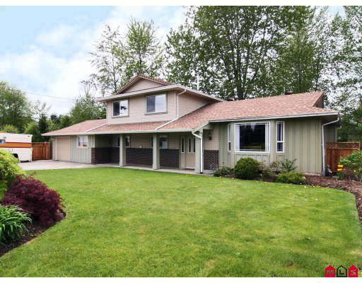 "Main Photo: 3253 268TH Street in Langley: Aldergrove Langley House for sale in ""PARKSIDE"" : MLS®# F2909758"