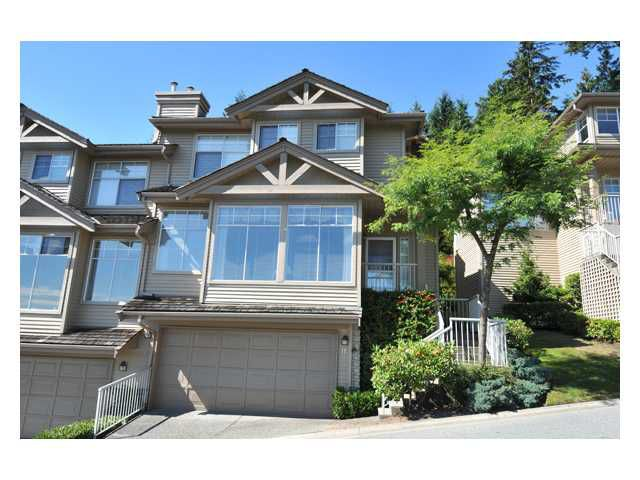 Main Photo: 11 2979 PANORAMA Drive in Coquitlam: Westwood Plateau Townhouse for sale : MLS®# V849714