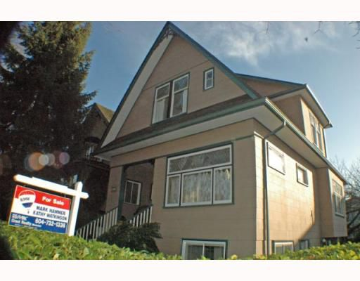 Main Photo: 1916 KITCHENER Street in Vancouver: Grandview VE House for sale (Vancouver East)  : MLS®# V747257