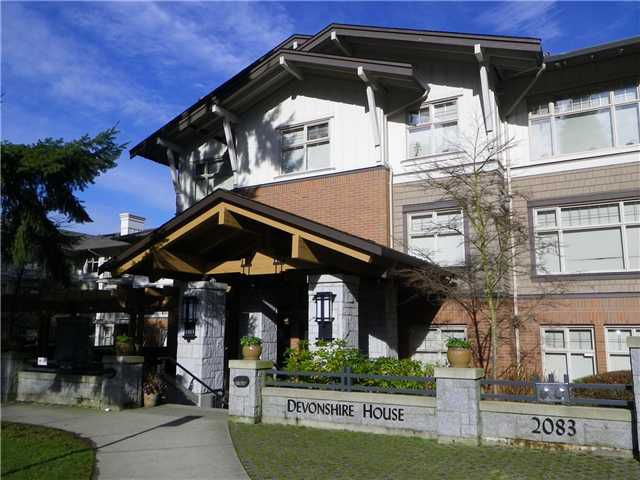 "Main Photo: 303 2083 W 33RD Avenue in Vancouver: Quilchena Condo for sale in ""DEVONSHIRE HOUSE"" (Vancouver West)  : MLS®# V866492"