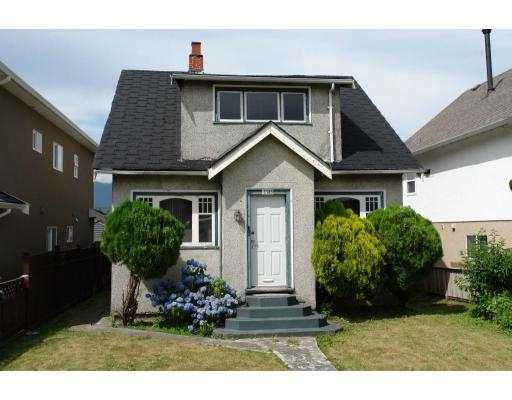 Main Photo: 3185 E 3RD Avenue in Vancouver: Renfrew VE House for sale (Vancouver East)  : MLS®# V722459