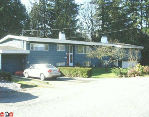 "Main Photo: 12424 PARK Drive in Surrey: Cedar Hills House Duplex for sale in ""ST.HELENS PARK"" (North Surrey)  : MLS®# F1005208"