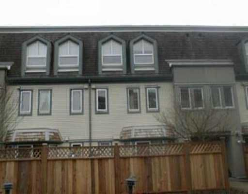 "Main Photo: 46 1225 BRUNETTE AV in Coquitlam: Maillardville Townhouse for sale in ""PLACE FONTAINEBLEAU"" : MLS®# V530680"
