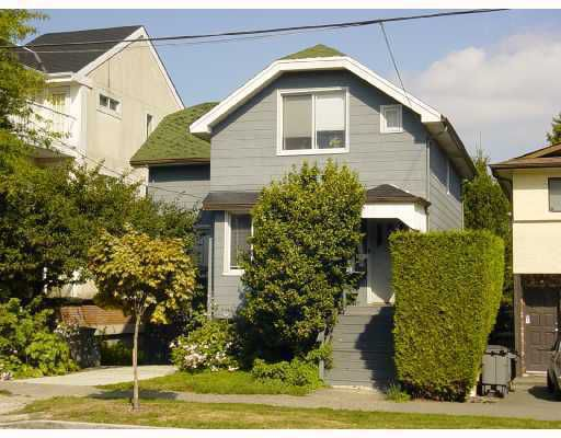 """Main Photo: 967 W 16TH Avenue in Vancouver: Fairview VW House for sale in """"FAIRVIEW"""" (Vancouver West)  : MLS®# V787012"""