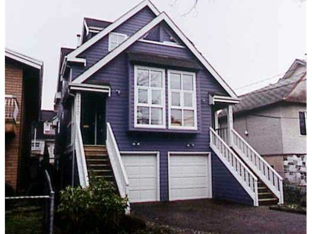 Main Photo: 1770 KITCHENER Street in Vancouver: Grandview VE House 1/2 Duplex for sale (Vancouver East)  : MLS®# V819862