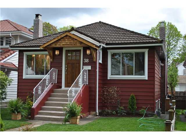 "Main Photo: 38 W 20TH AV in Vancouver: Cambie House for sale in ""CAMBIE VILLAGE"" (Vancouver West)  : MLS®# V824923"
