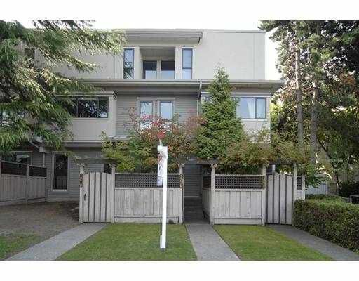 Main Photo: 1216 W 12TH Avenue in Vancouver: Fairview VW Townhouse for sale (Vancouver West)  : MLS®# V731936