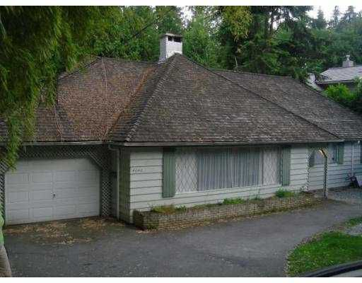 Main Photo: 4640 CAULFEILD Drive in West_Vancouver: Caulfeild House for sale (West Vancouver)  : MLS®# V772271