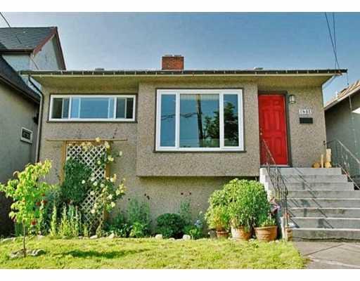 Main Photo: 1487 E 27TH AV in Vancouver: Knight House for sale (Vancouver East)  : MLS®# V596188