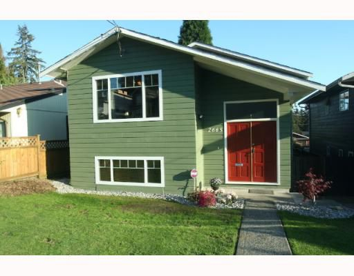 Main Photo: 2665 VIOLET Street in North_Vancouver: Blueridge NV House for sale (North Vancouver)  : MLS®# V768163