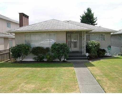Main Photo: 1492 E 62ND AV in Vancouver: Fraserview VE House for sale (Vancouver East)  : MLS®# V550459