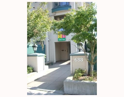 """Main Photo: 401 688 E 16TH Avenue in Vancouver: Fraser VE Condo for sale in """"WINTAGE EASTSIDE"""" (Vancouver East)  : MLS®# V756655"""