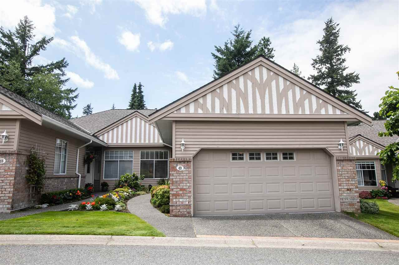 """Main Photo: 49 2533 152 Street in Surrey: Sunnyside Park Surrey Townhouse for sale in """"Bishop's Green"""" (South Surrey White Rock)  : MLS®# R2387974"""