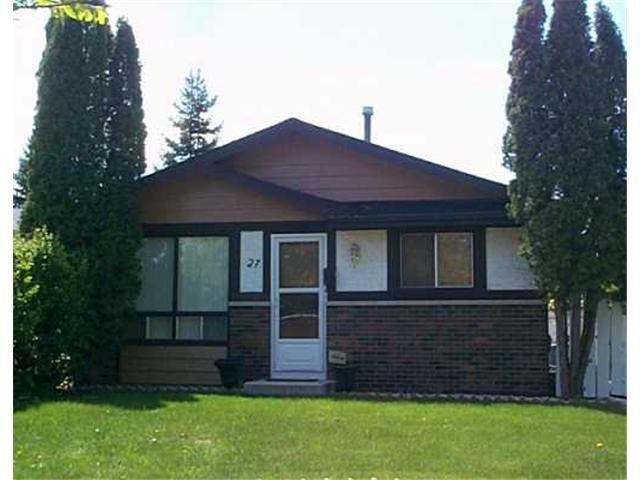 Main Photo: 27 CHARING CROSS Crescent in WINNIPEG: St Vital Residential for sale (South East Winnipeg)  : MLS®# 2708231